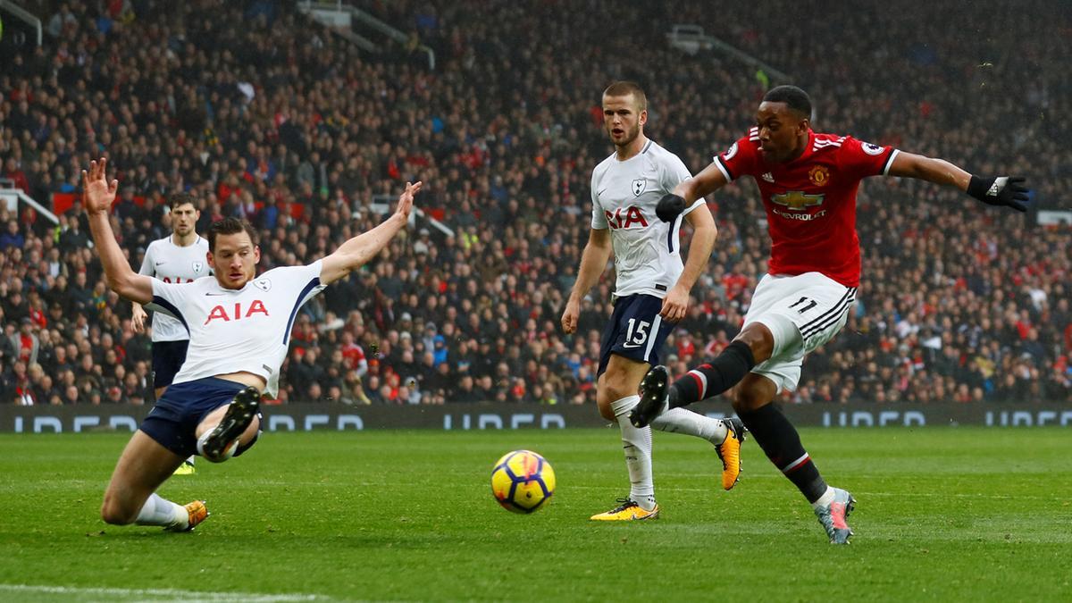 Image result for Manchester united spurs