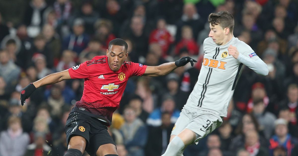 Manchester United Advance To The Round Of 16 Of The Champions League After A Late Winner From Marouane Fellaini Utdreport