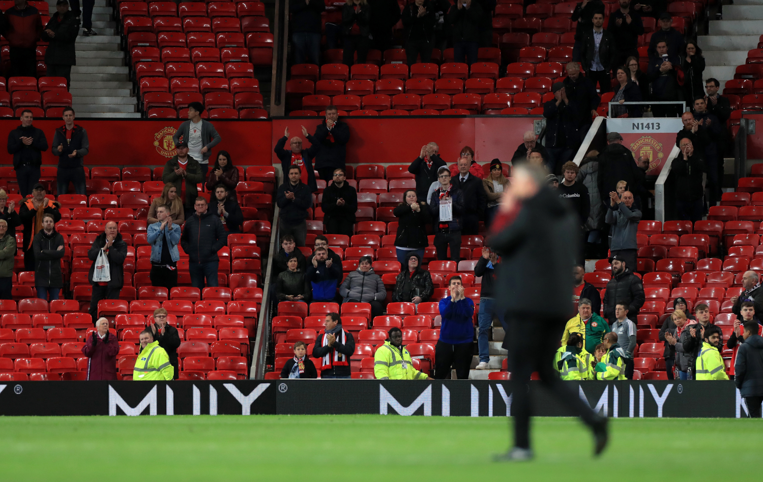 Image result for images of Manchester United fans 'planning mass walk-out at Old Trafford on February 1'
